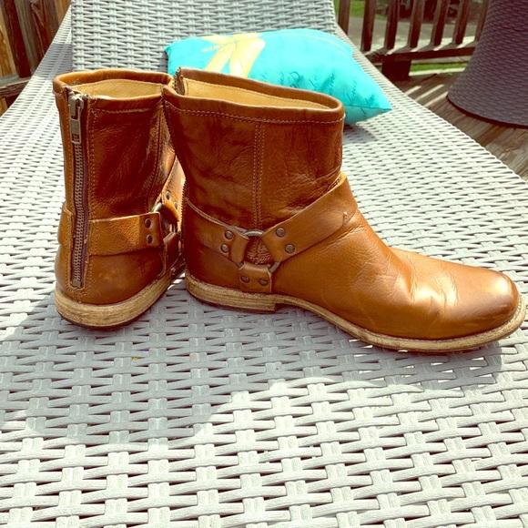 Frye Other - Frye John Addison Harness back zip Boots